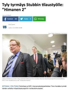 Klikkaa kuvaa päästäksesi Uuden Suomen uutiseen.